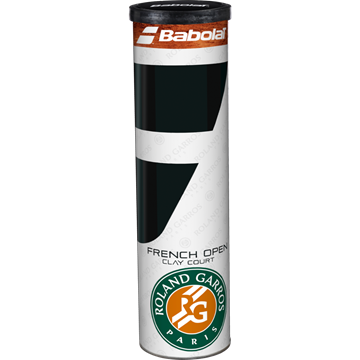 Produkt Babolat Ball French Open Clay X4 2016
