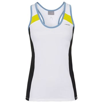 Produkt HEAD Ava Tank Top Women White/Yellow