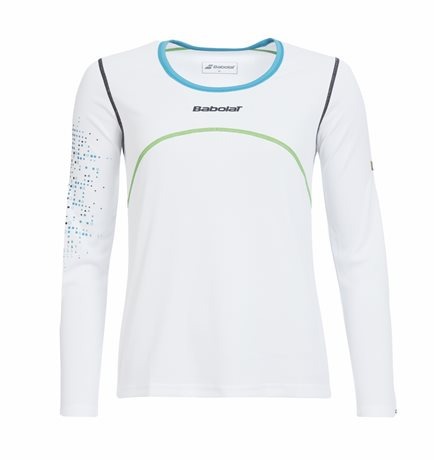 Babolat Long Sleeves Women Match Performance White 2015