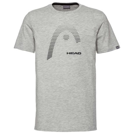 HEAD Club Carl T-Shirt Men Grey Melange