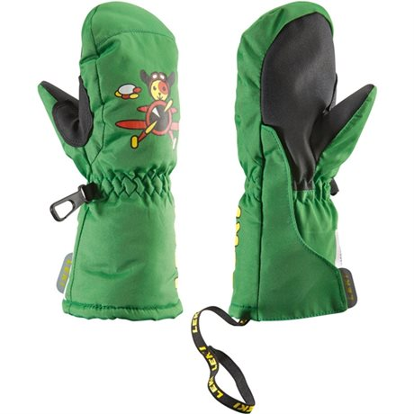 Leki Little Pilot mitten green 63380291