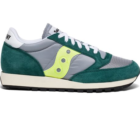 Saucony Jazz Original Vintage Grey/Green/Neon