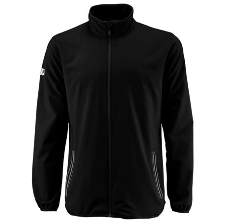 Wilson M Team Woven Jacket Black/White