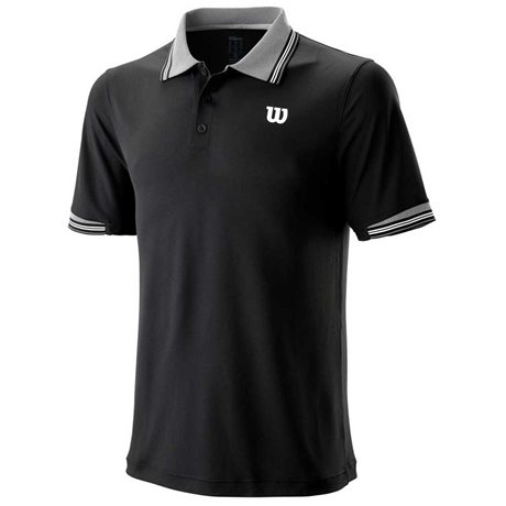 Wilson M Star Tipped Polo Black