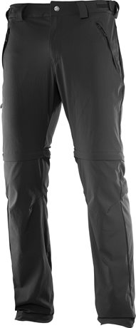 Salomon Wayfarer Zip Pant Black 393113
