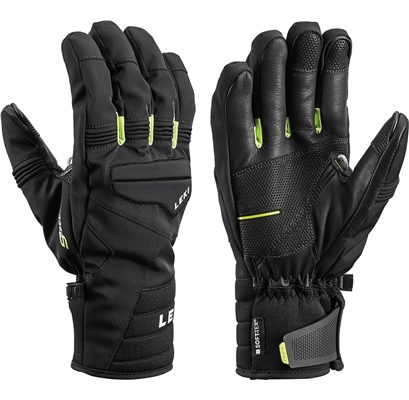 Leki Progressive 7 S mf touch black-lime 643882302 19/20