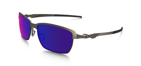 OAKLEY Tinfoil Light/Positive Red Iridium Polarized