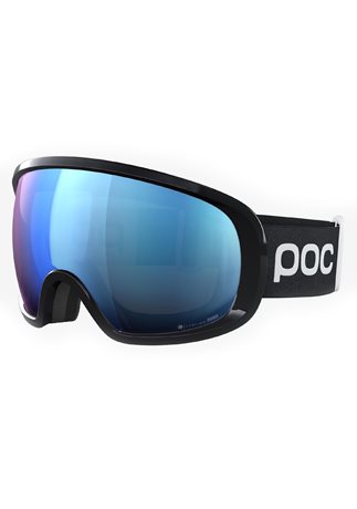 POC Fovea Clarity Comp Uranium Black/Spektris Blue + No Mirror 19/20
