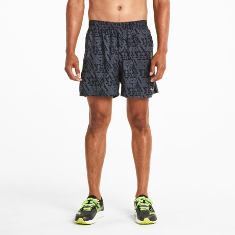 SAUCONY THROTTLE SHORT CARBON