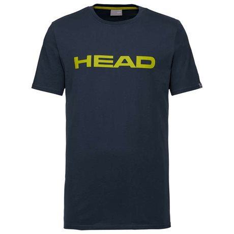 HEAD Club Ivan T-Shirt Men Dark Blue/Yellow