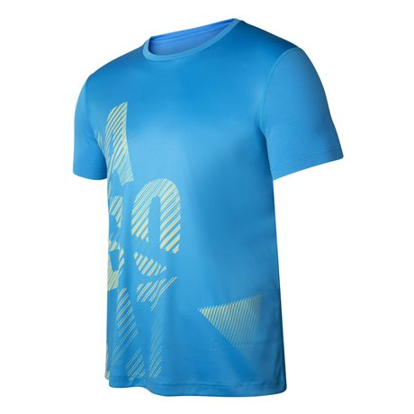 Babolat Exercise Men Big Babolat Tee Blue Aster