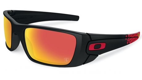 OAKLEY Fuel Cell Matte Black w/Ruby Iridium