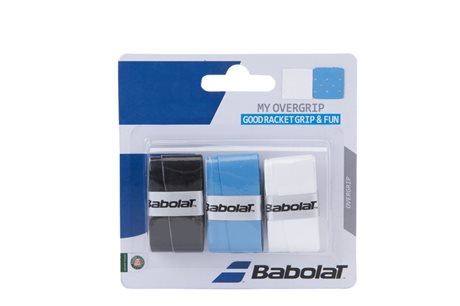 Babolat My Overgrip X3 White/Black/Blue
