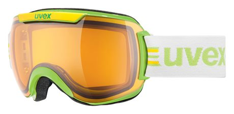 UVEX DOWNHILL 2000 RACE, lightgreen/lasergold lite S5501120729
