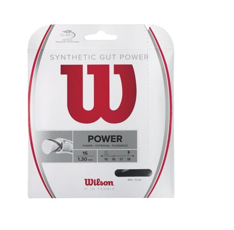Wilson Synthetic Gut Power 12m 1,30 Black