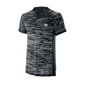 Produkt Wilson M Competition Seamless Henley Black/White