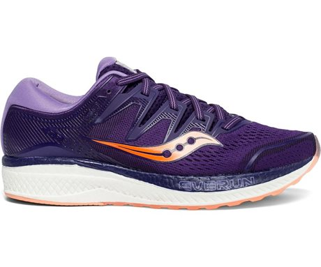Saucony Hurricane ISO 5 Purple/Peach