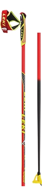 Leki HRC max neonred/antracite-black-white-neonyellow unshortened/grip sep. 6434001 18/19