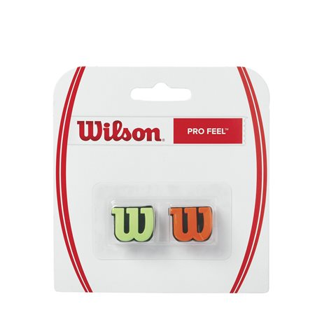 Wilson Pro Feel Green/Orange