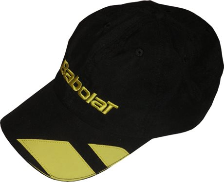 Babolat Promo Cap Black/Yellow