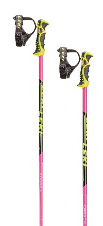 Leki Venom SL pink/black/white/yellow 6406708 19/20