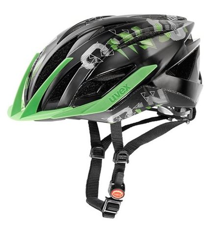 UVEX ULTRA SNC, BLACK-GREEN MAT SHINY