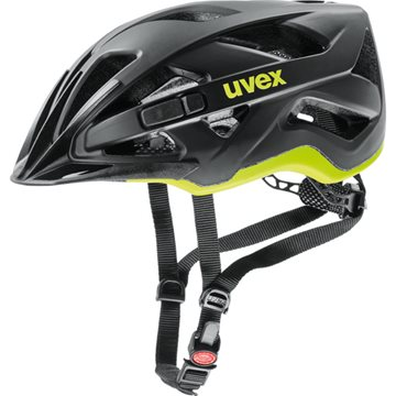 Produkt UVEX HELMA ACTIVE CC, BLACK-YELLOW MAT 2019