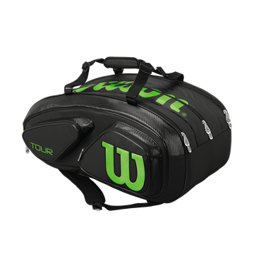 Produkt Wilson Tour V 15 Pack Black/Green