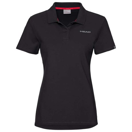 HEAD Club Mary Polo Shirt Women Black