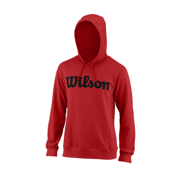 Produkt Wilson M Script Cotton PO Hoody Red