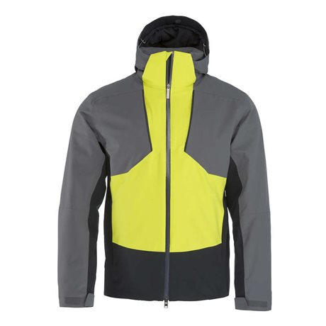 Head Glacier Jacket Men Anthracite/Yellow