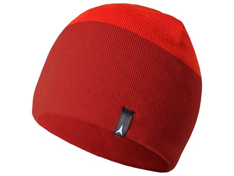 Atomic Alps Reversible Beanie Dark Red