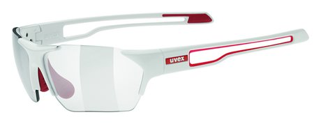 UVEX SGL 202 SMALL VARIO, WHITE RED/SMOKE