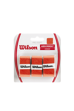 Produkt Wilson Pro Soft Overgrip X3 Orange
