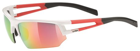 UVEX SPORTSTYLE 110 WHITE RED/MIR RED