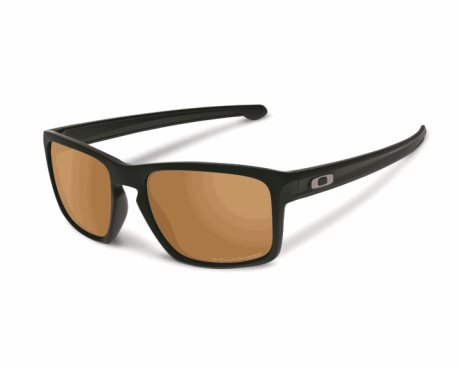 OAKLEY Sliver Matte Black w/ Bronze Polarized
