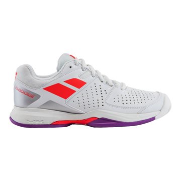 Produkt Babolat Pulsion Clay Women White/Fluo Red