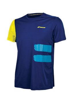 Produkt Babolat Performance Boy TEE Crew Neck Blue 2018