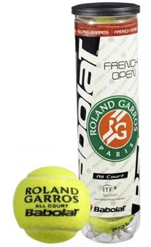 Produkt Babolat Ball French Open All Court X4 2015