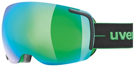 UVEX BIG 40 FM black-green mat double lens S5504417226