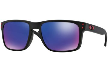 Produkt OAKLEY Holbrook Matte Black w/Positive Red Iridium