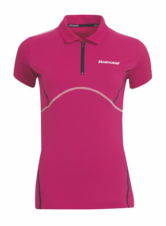 Babolat Polo Women Match Performance Cherry Red