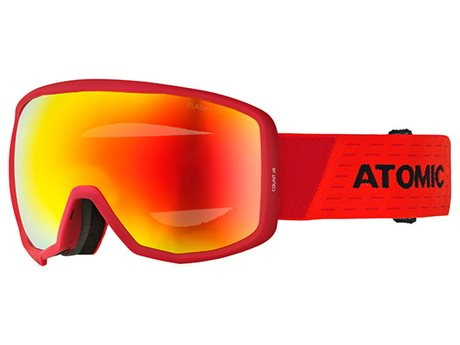 ATOMIC COUNT JR SPHERICAL Red/Black 18/19