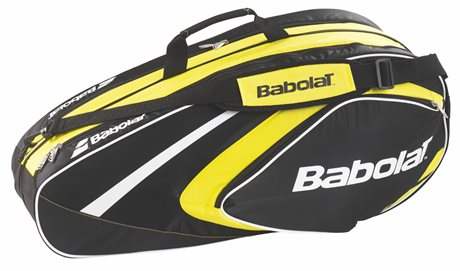 Babolat Club Line Racket Holder X6 Yellow 2015