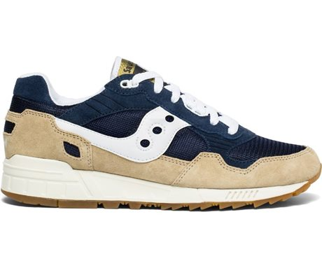 Saucony Shadow 5000 Vintage Tan/Navy/White