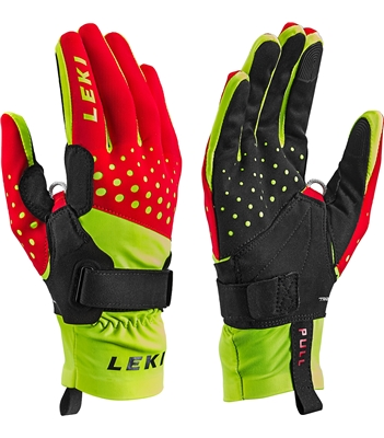 Leki Nordic Race Shark red-yellow-black 643911301 19/20