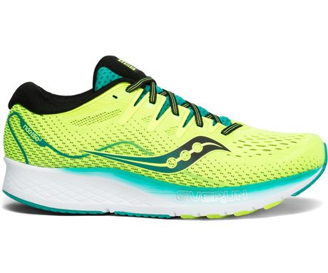 Saucony Ride ISO 2 Citron/Teal