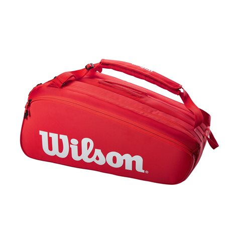 Wilson Super Tour 15 Pack Red 2021