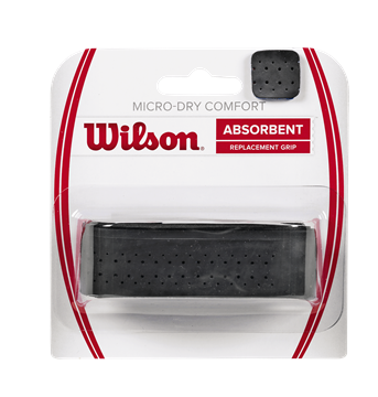 Produkt Wilson Micro Dry Comfort Replacement Black 1ks