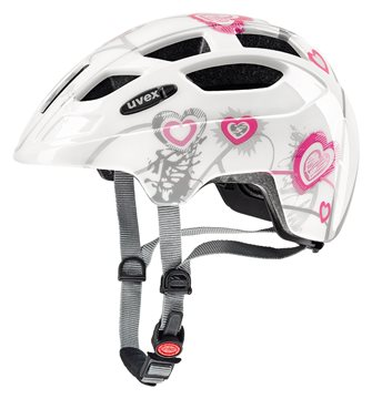 Produkt UVEX FINALE JUNIOR, HEART WHITE PINK 2017